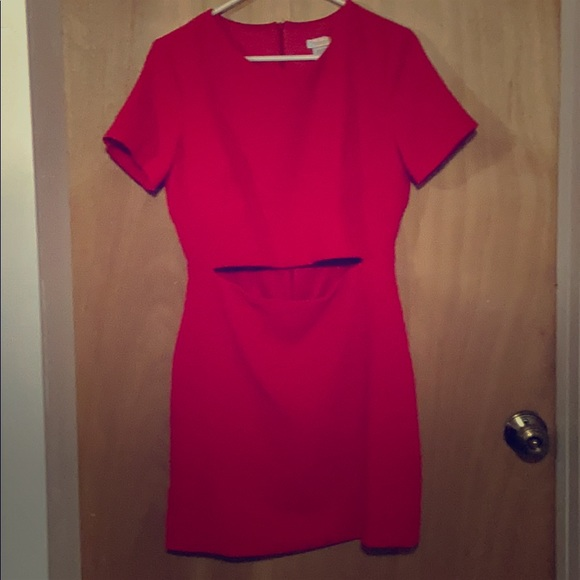 Rubber Ducky Productions, Inc. Dresses & Skirts - Beautiful red t-shirt dress